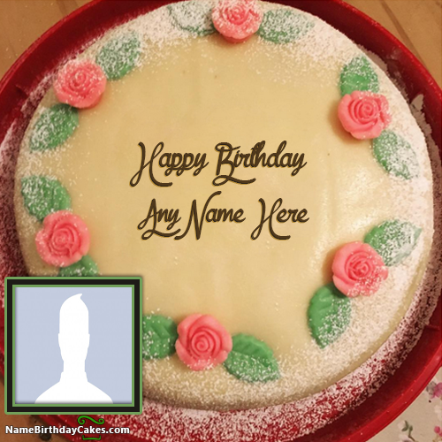 Write Name On Cake For Girl With Photo