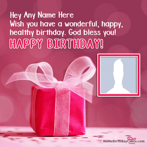 Name Birthday Wishes Images