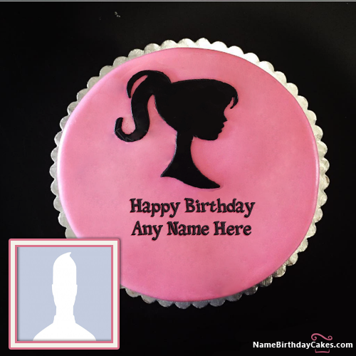 Amazing Birthday Cake With Name For Girls