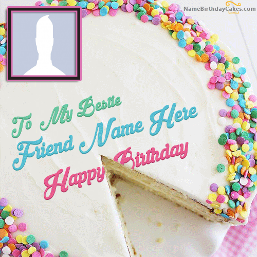 Add Name And Photo On Birthday Cake