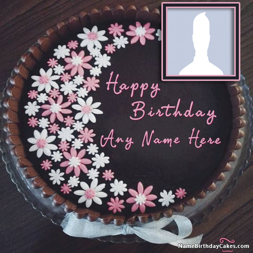 Online Happy Birthday Cakes For Sister With Name