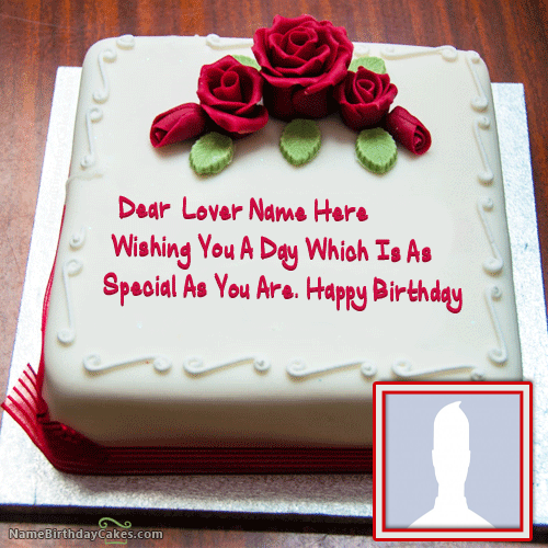 Happy Birthday Wishes Cake With Name For Love