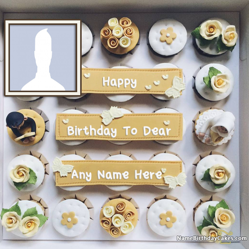 Birthday Cake With Name For Best Friend Female