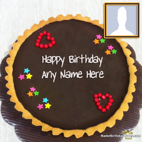 Happy Birthday Chocolate Cake For Love With Name