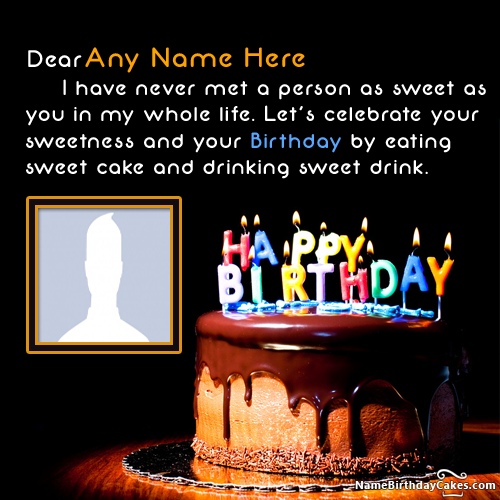 Online Birthday Wishes For Friends With Name Editing