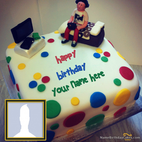 Birthday Cake With Name Generator For Boy