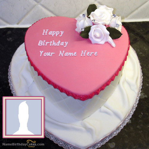Romantic Name Birthday Cake Images For Girlfriend