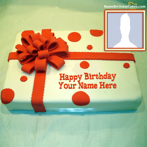Say Happy Birthday With Name And Photo