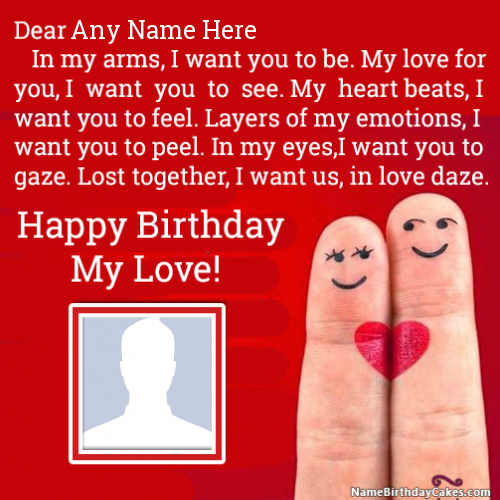 Happy Birthday Images For Lover With Name