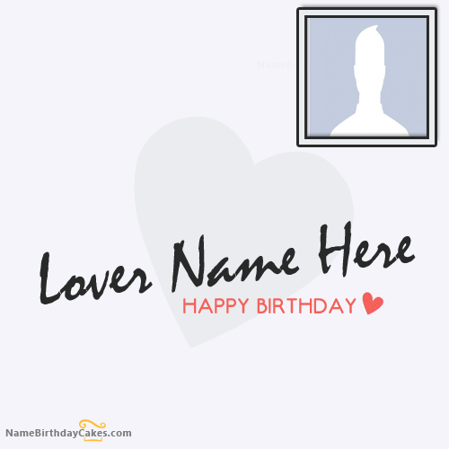 Lover Birthday Wishes Card With Name