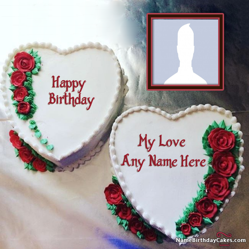 Create Love Birthday Cake With Name