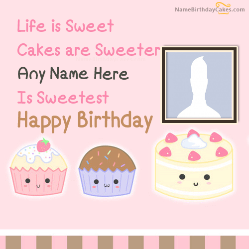 Cakes Birthday Wishes With Name