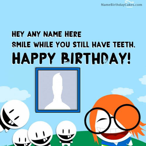 Crazy Funny Birthday Wishes With Name