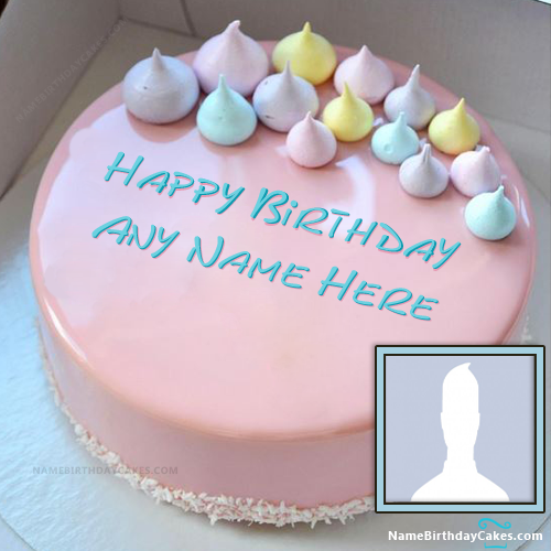Customize Name Cake For Friend - Download