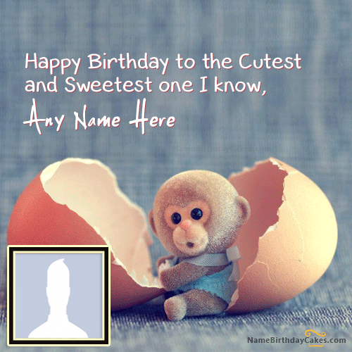 Simple Birthday Image With Name