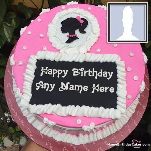 Special Birthday Cake For Girls With Name Edit Option