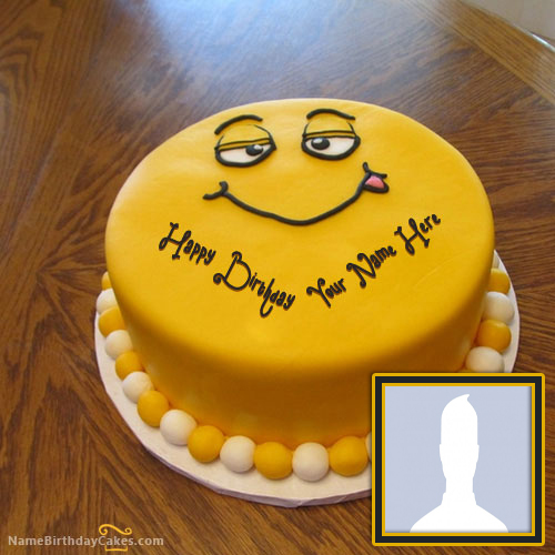 Funny Birthday Cake for Kids With Name