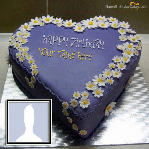Generate NameBirthdayCakes With Photo