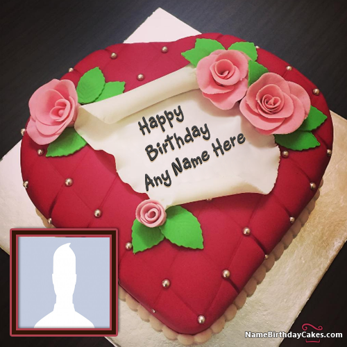 Best Birthday Cake With Name And Photo Editor For Girls