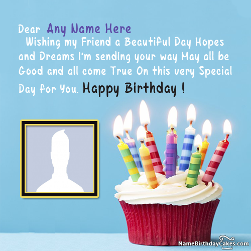Best Birthday Wishes For Friend Name Edit Option