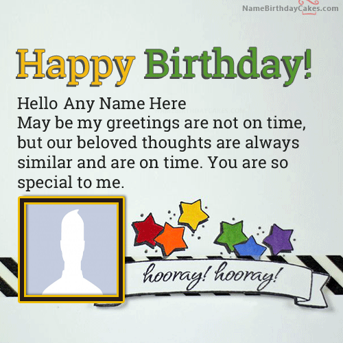 Belated Birthday Wishes For Friend With Name