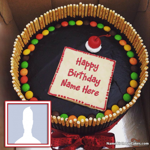 Write Name On Cake For Friend
