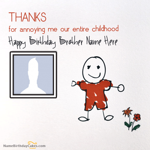 Download Happy Birthday Brother Images With Name