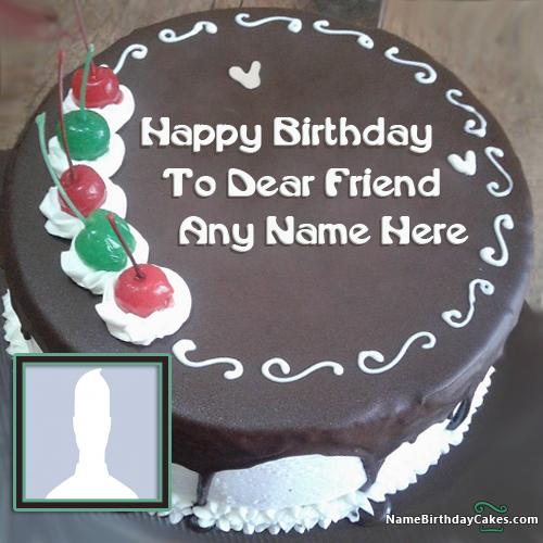 Best Friend Cake For Brother With Name