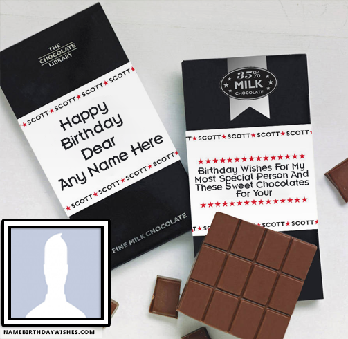 Chocolates Birthday Wishes For A Friend With Name