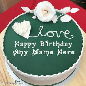 Generate Birthday Cake With Names and Photo