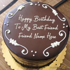 Free Birthday Cake With Name Editor
