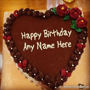 Stupendous Top Happy Birthday Chocolate Cake With Name Funny Birthday Cards Online Overcheapnameinfo
