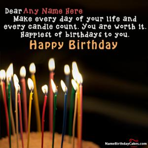 Send Birthday Wishes With Name For Friend