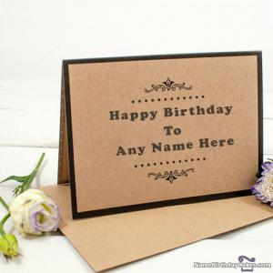 Best Sister Birthday Card With Name Edit Option