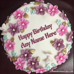 Happy Birthday Cake Pictures With Name For Girls