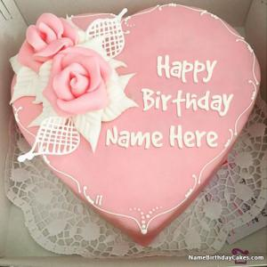 Latest Happy Birthday Name Cake For Lover