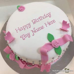 Online Sister Birthday Cake With Name And Photo