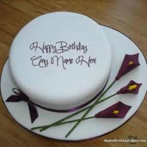 Write Name On Cake For Sister With Photo