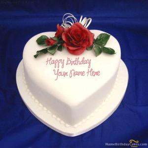 Send Birthday Cake To Wife With Name