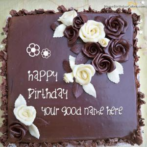Download Name Birthday Cake Images For Wife