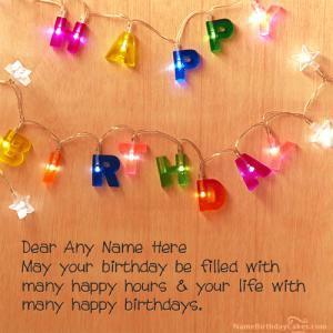 Generate Birthday Wishes Images With Name