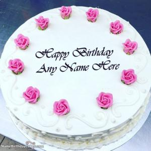 Special Birthday Cake With Name For Mother