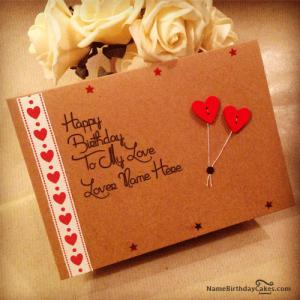 Best Birthday Cards For Lover With Name and Photo