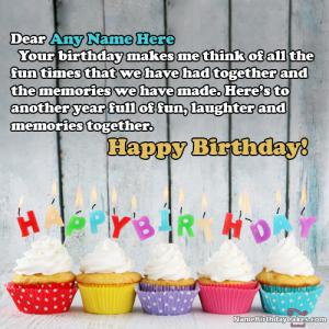 Birthday Wishes For Best Friend With Name & Photo
