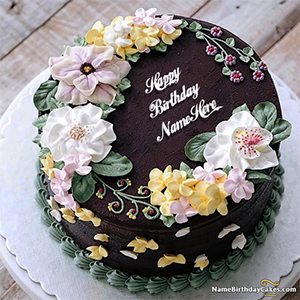 Magnificent Best Birthday Cake For Girls With Name And Photo Personalised Birthday Cards Veneteletsinfo